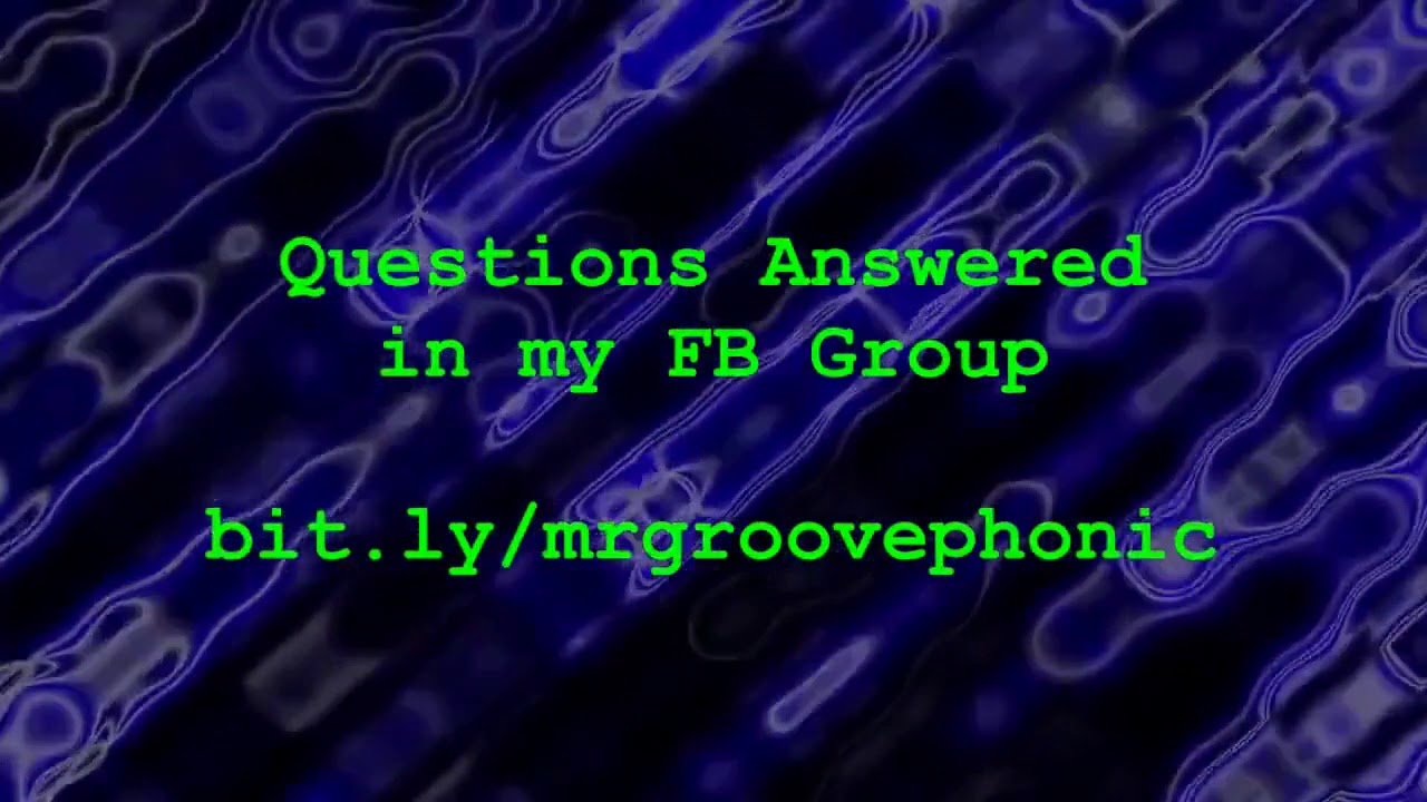 MrGroovephonic Thanks You for All Your Awesome Comments! Please Watch