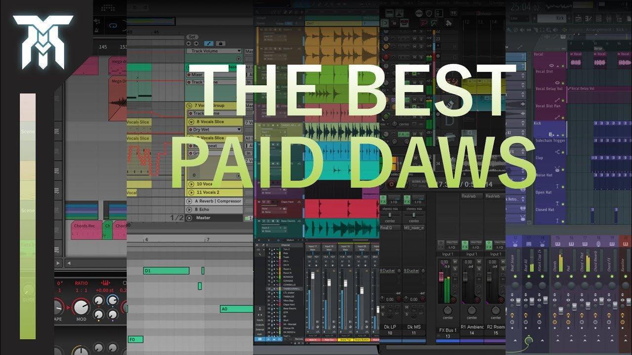 Top 10 DAWs (2018-2019) – Best digital audio workstations